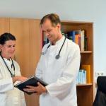 Dr. Baur & M. Bode